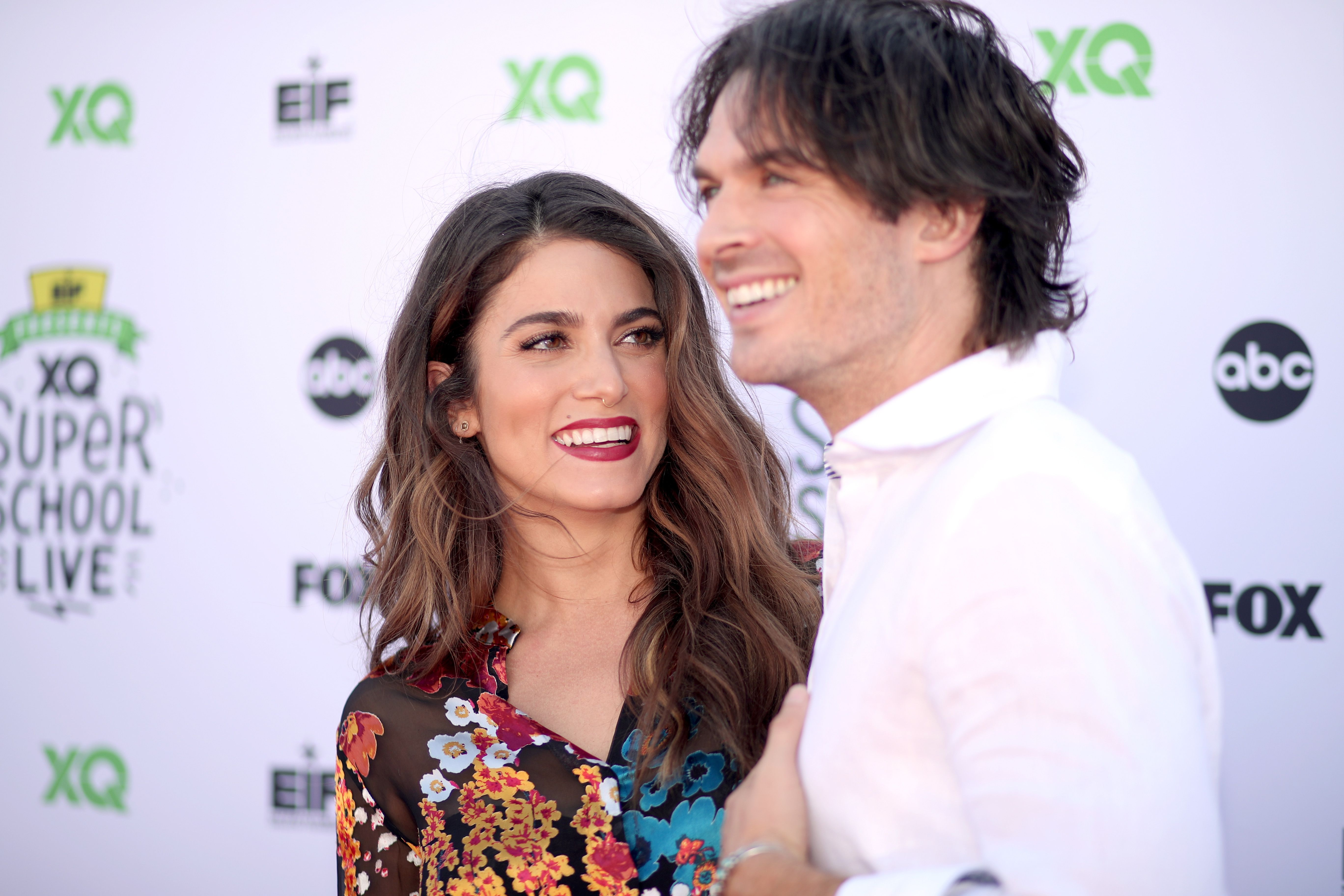 shield Ant Beforehand  Nikki Reed and Ian Somerhalder Make First Red Carpet Appearance ...