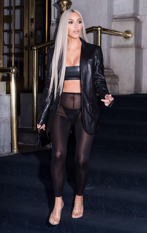 a3460a42de5 Kim Kardashian West s Most Naked Dresses - Kim K s Sexiest Outfits