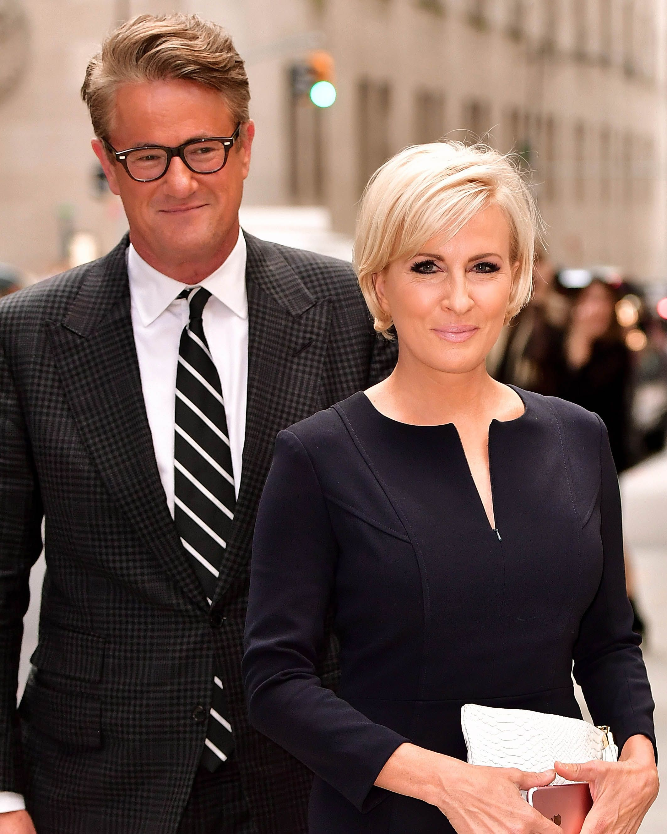 Joe Scarborough and Mika Brzezinski.