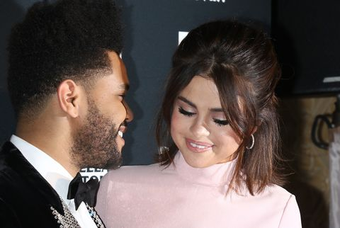 The Weeknd and Selena Gomez