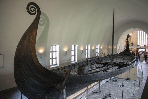 ancient viking ship