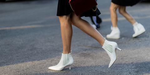 f8cf93d2 Razones para llevar botines blancos en primavera - Botines blancos ...