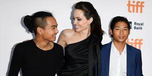 アンジェリーナ・ジョリーと息子たち
