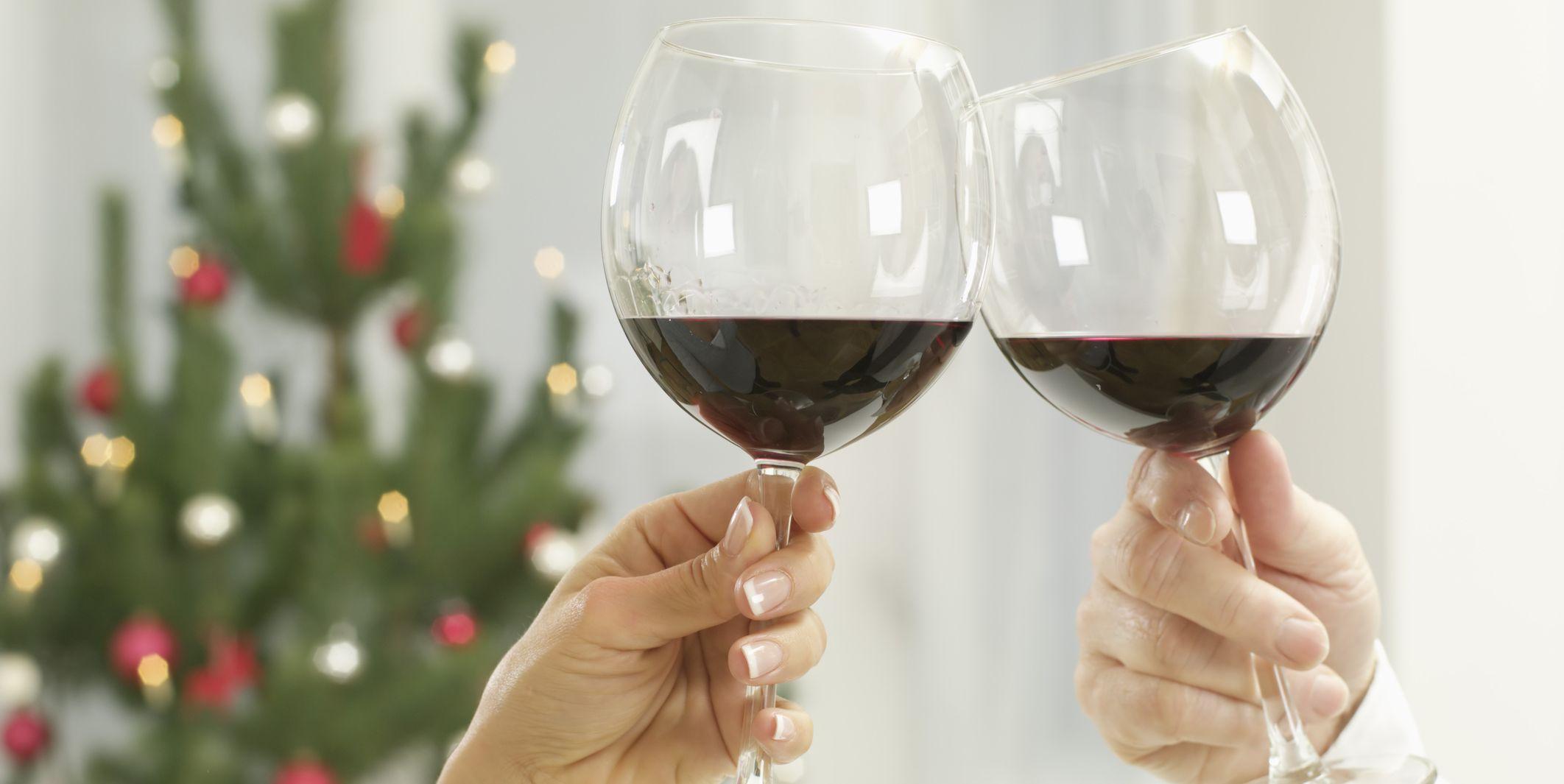 rode wijn kerst
