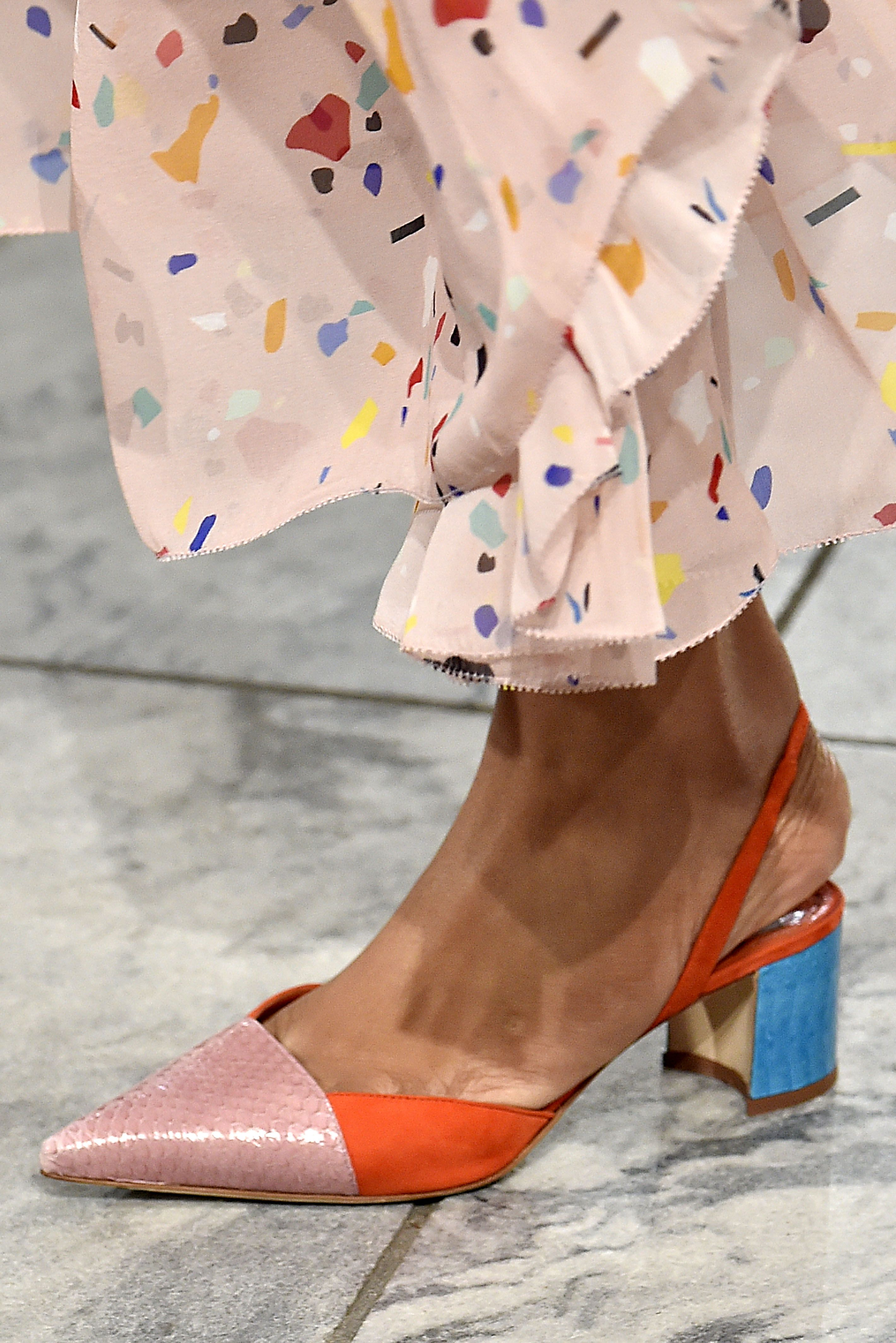 180ed212685 Spring 2018 Shoe Trends - The Hottest Shoe Trends From New York Fashion  Week SS18