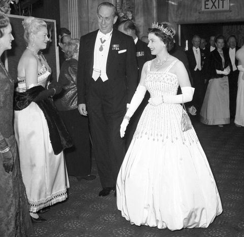 The Queen at the premiere of Lawrence of Arabia in 1962