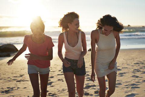 People on beach, People in nature, Beach, Friendship, Fun, Vacation, Sea, Summer, Water, Ocean,