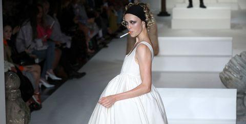 London Fashion Week Spring 2018 Trends Subversive Ladylike
