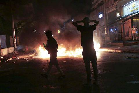 Greeks protest on the 4th death anniversary of Greek rapper Pavlos Fyssas