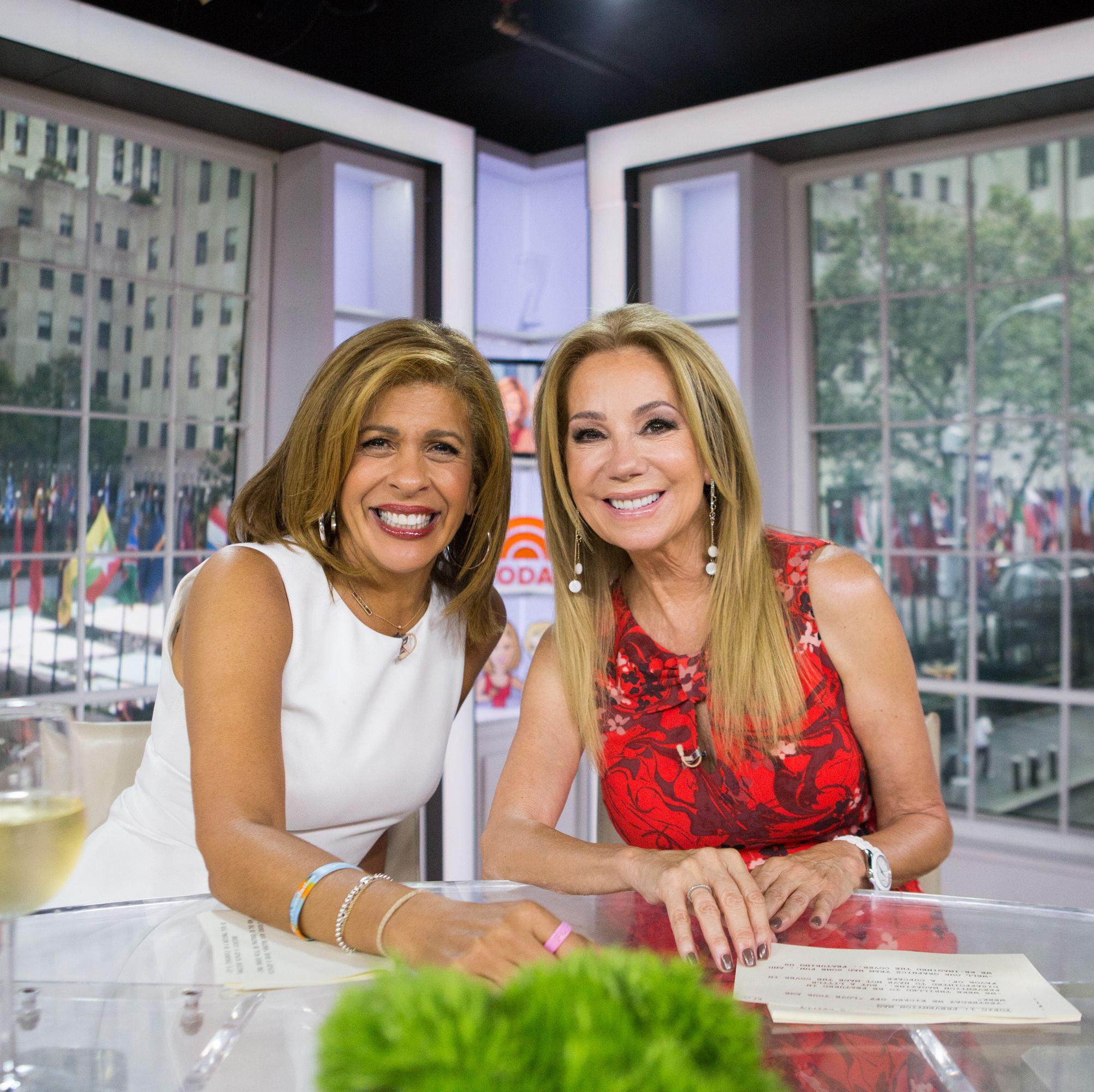 Kathie Lee Gifford Finally Met Hoda Kotb's Baby Daughter and the Photo Is Precious