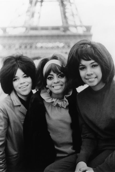 Photo of SUPREMES and Mary WILSON and Florence BALLARD and Diana ROSS