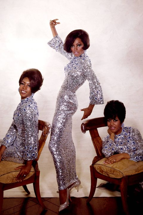 Photo of Diana ROSS and Mary WILSON and SUPREMES and Cindy BIRDSONG