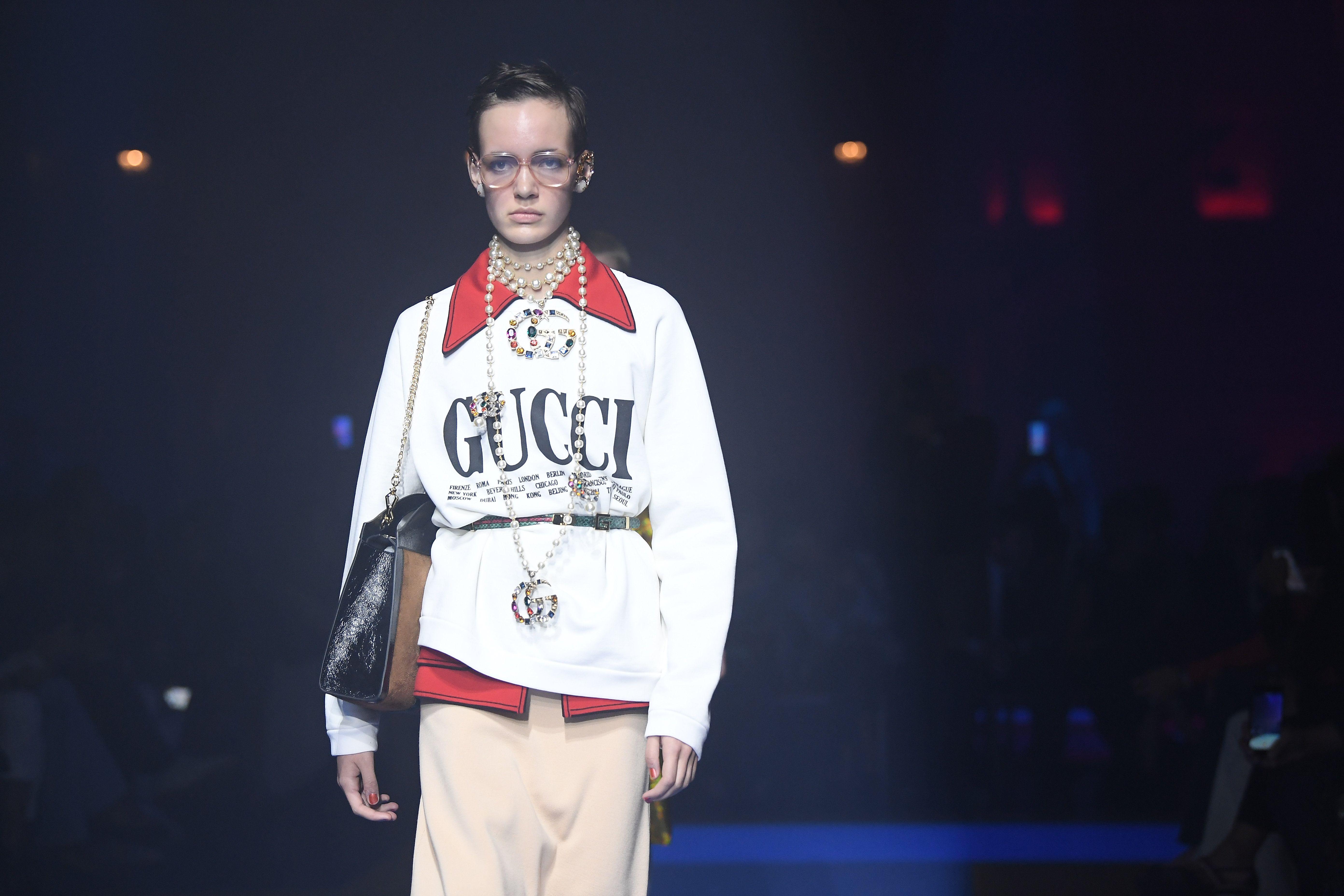 fd91d9ff6b1b Gucci Spring 2018 Show Milan Fashion Week - Gucci Spring 2018 Runway