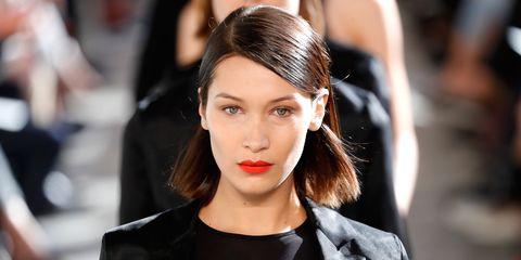 Hair, Lip, Hairstyle, Face, Eyebrow, Fashion model, Fashion, Beauty, Chin, Skin,