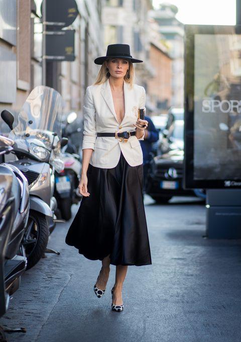 come indossare il blazer moda 2018,come abbinare il blazer, blazer abbinamenti alla moda