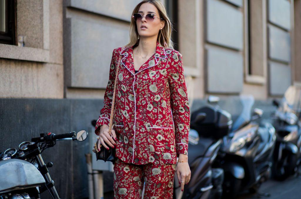Giacca Da Camera Uomo Milano : Moda pigiama la tendenza street style da copiare