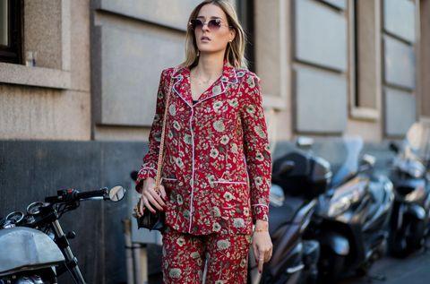 Giacca Da Camera Uomo Milano : Moda pigiama 2018: la tendenza street style da copiare