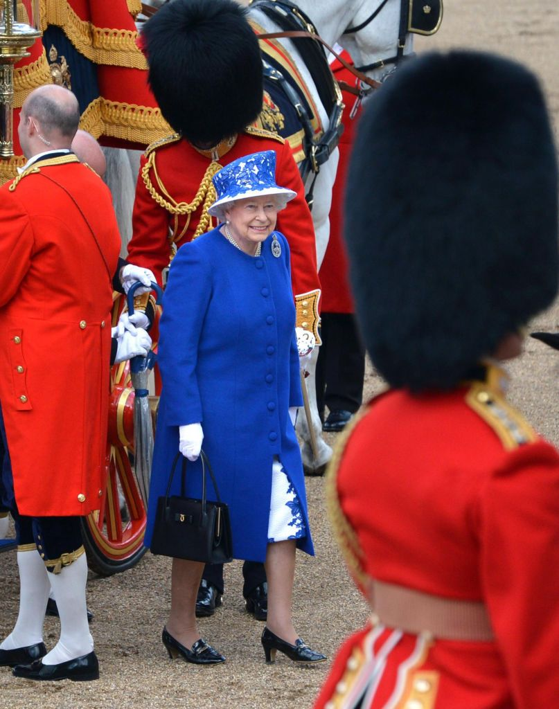 40 Old Royal Family Trooping the Colour Photos Through the Years