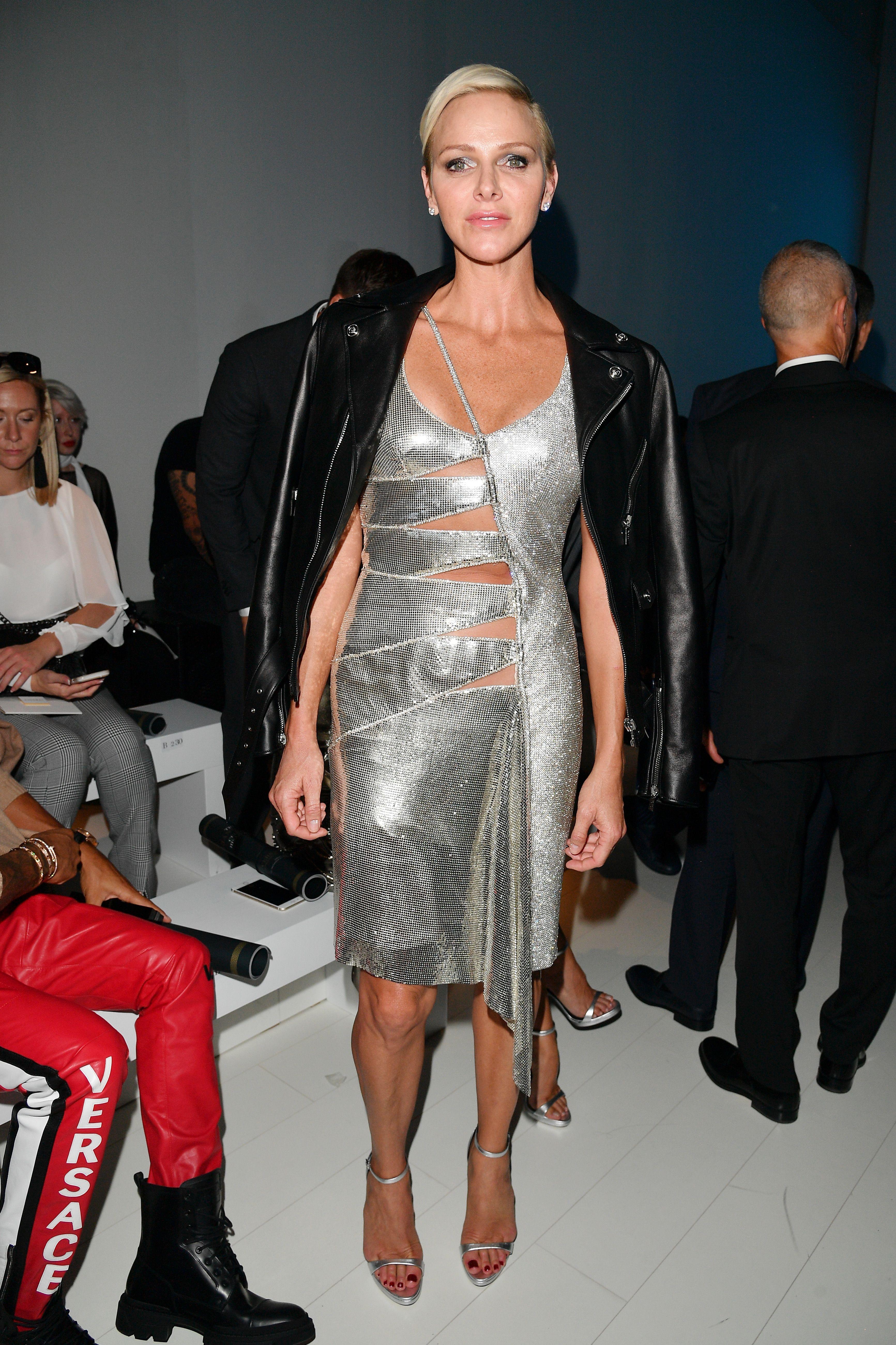 Princess Monaco Charlene Wittstock: athlete, beauty and ... mom 74