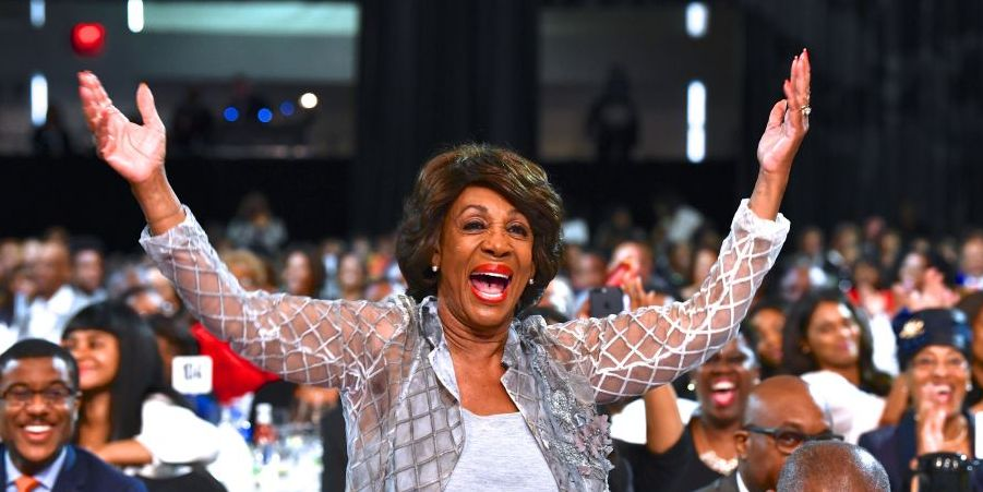 All Time Now Belongs to Rep. Maxine Waters