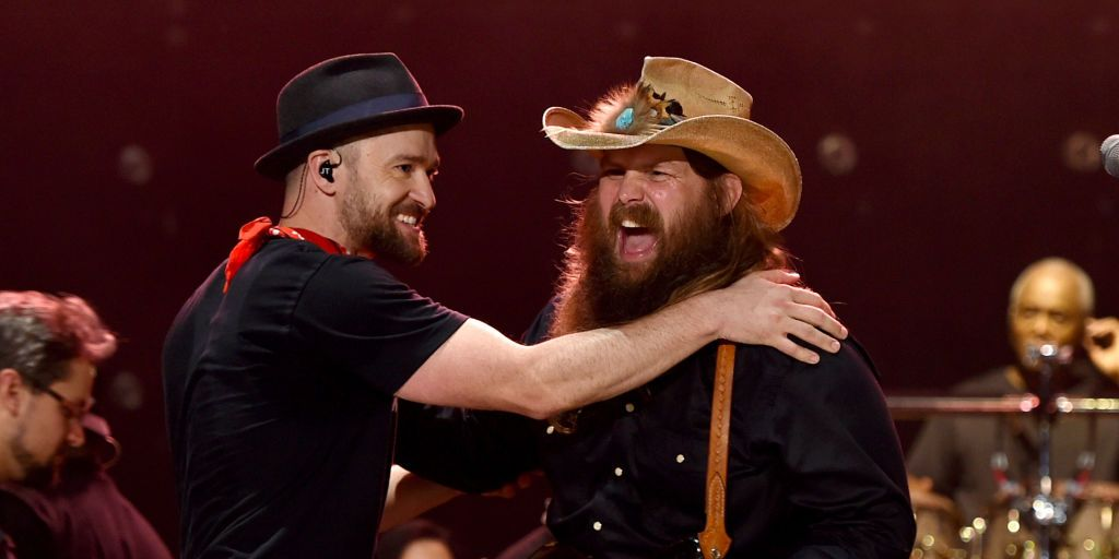 justin timberlake, chris stapleton, say something