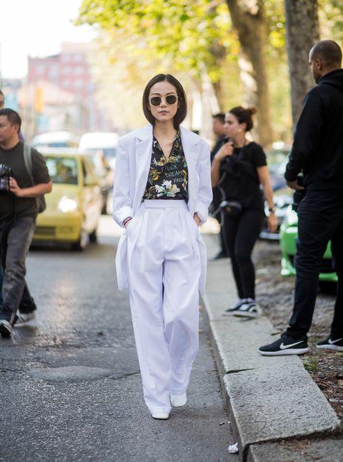 pantaloni bianchi estate 2018 come abbinarli