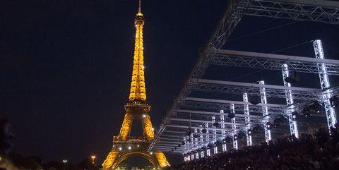 Spring 2018 Paris Fashion Week Trend Eiffel Tower