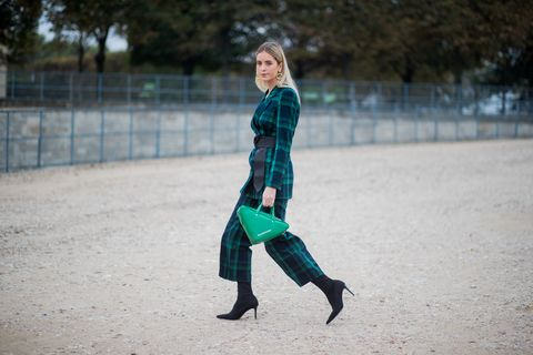 Street Style Trend Balenciaga Triangle Bag