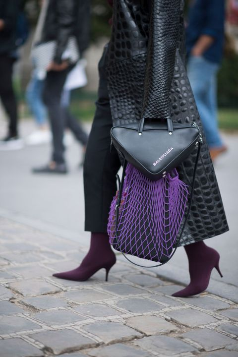 The Triangular It Bag Every Street Style Star Is Carrying
