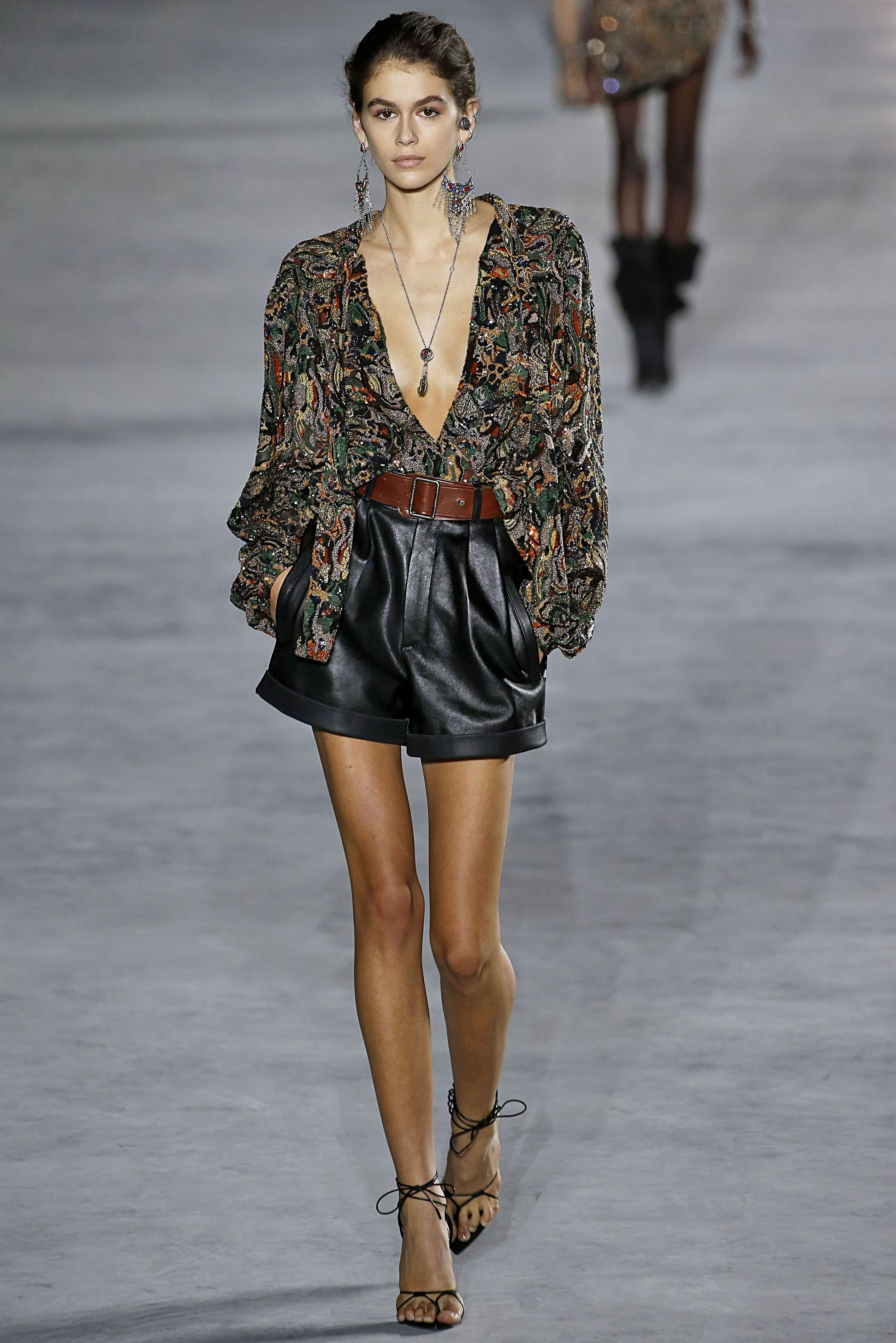 Kaia Gerber On The Runway At New York Fashion Week - Kaia Gerber First Fashion Month