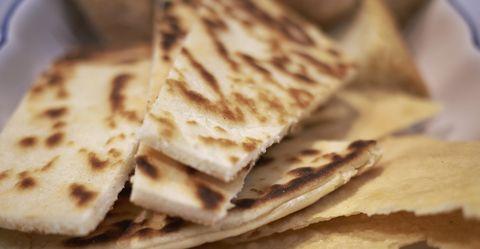 Piadina Romagnola and bread