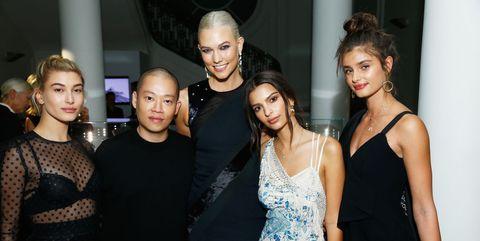 Fashion, Beauty, Event, Dress, Little black dress, Fashion design, Shoulder, Model, Haute couture, Fun,