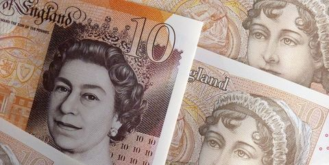 new and old 10 pound note