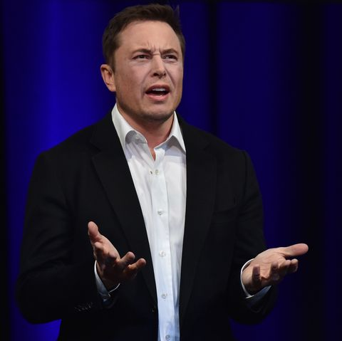 billionaire entrepreneur and founder of spacex elon musk speaks at the 68th international astronautical congress 2017 in adelaide on september 29, 2017   musk said his company spacex has begun serious work on the bfr rocket as he plans an interplanetary transport system photo by peter parks  afp        photo credit should read peter parksafp via getty images