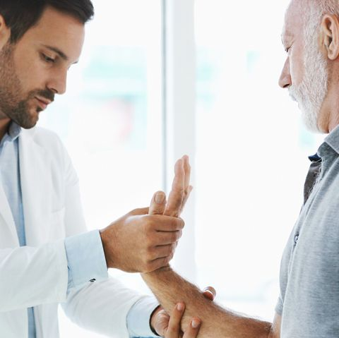 wrist pain examination