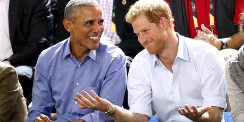Prince Harry Obama