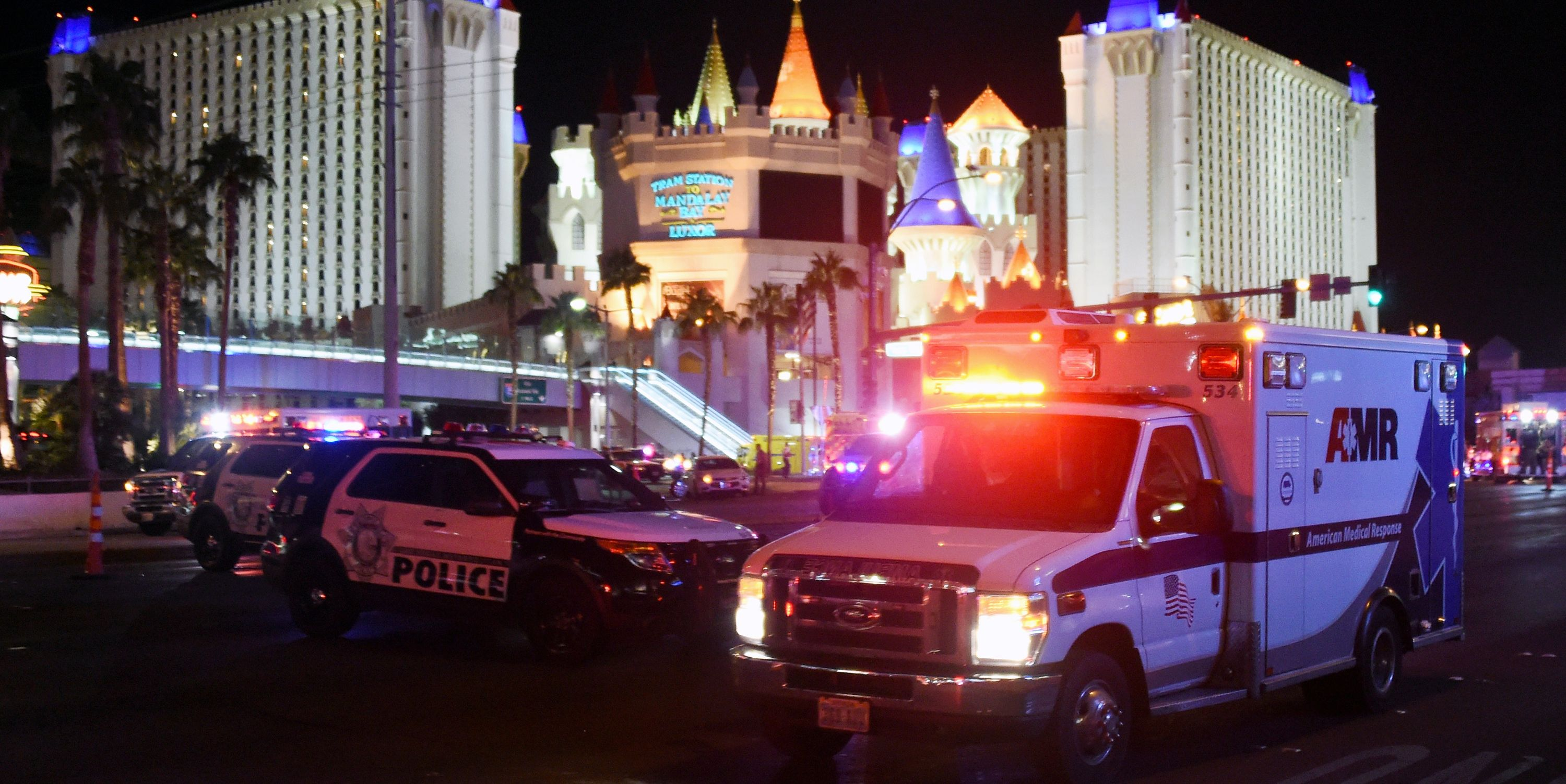 Las Vegas ambulances