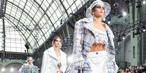 282ab7603dc4 Chanel SS18 Runway Show - Chanel Collection Fashion Week Spring 2018