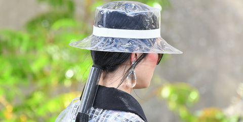 Hat, Sun hat, Headgear, Fashion accessory, Fedora, Grass, Photography, Plant, Costume hat,