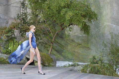 Nature, Photograph, Dress, Tree, Beauty, Fashion, Footwear, Leg, Spring, Grass,