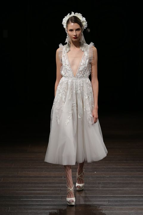 15 short wedding dresses for summer 13 designer short and midi image junglespirit Gallery