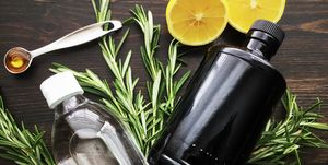 Rosemary Gin Fizz Ingredients