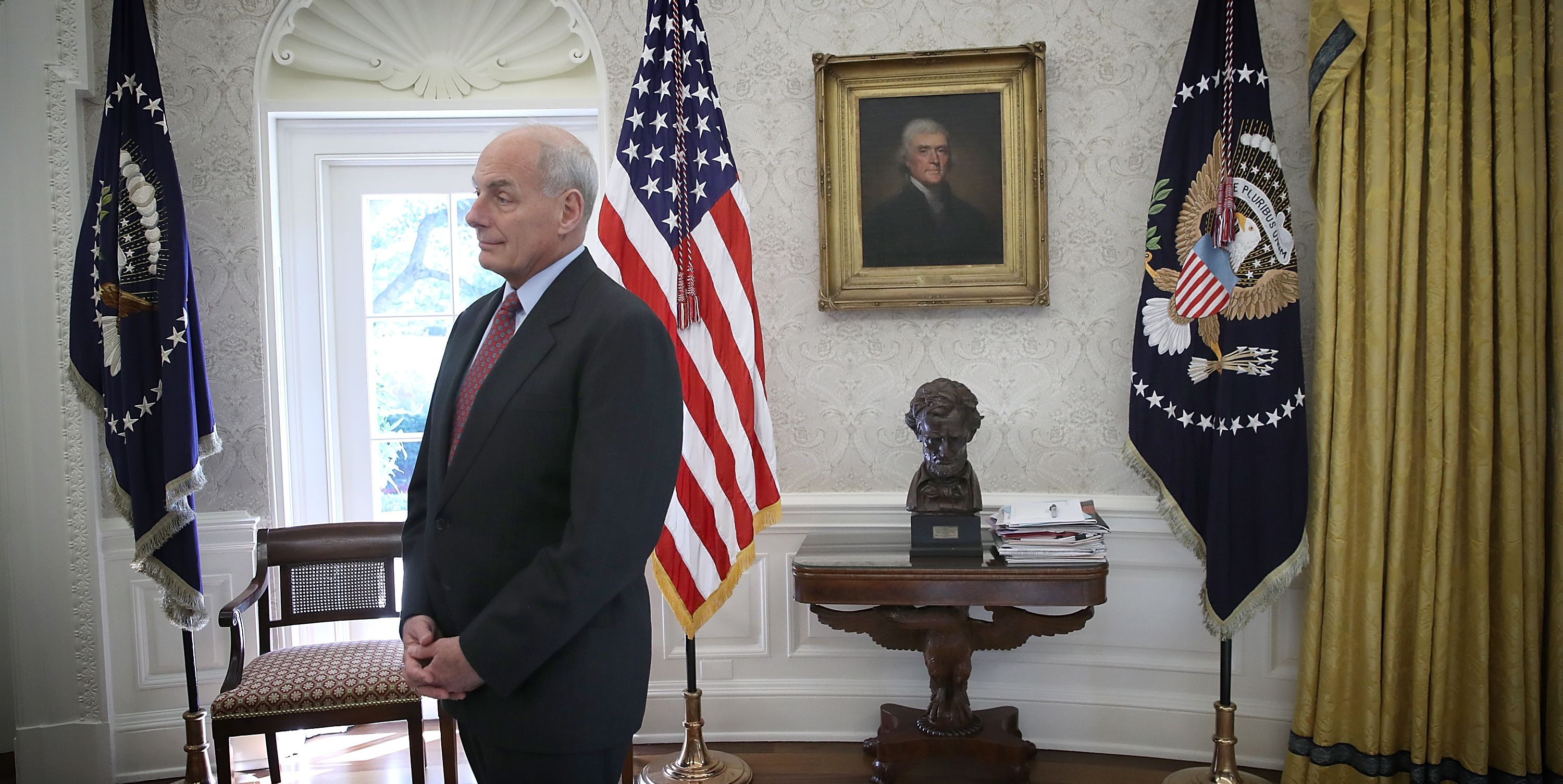 Image result for PHOTOS OF GENERAL KELLY WITH SPANISH HAWKS