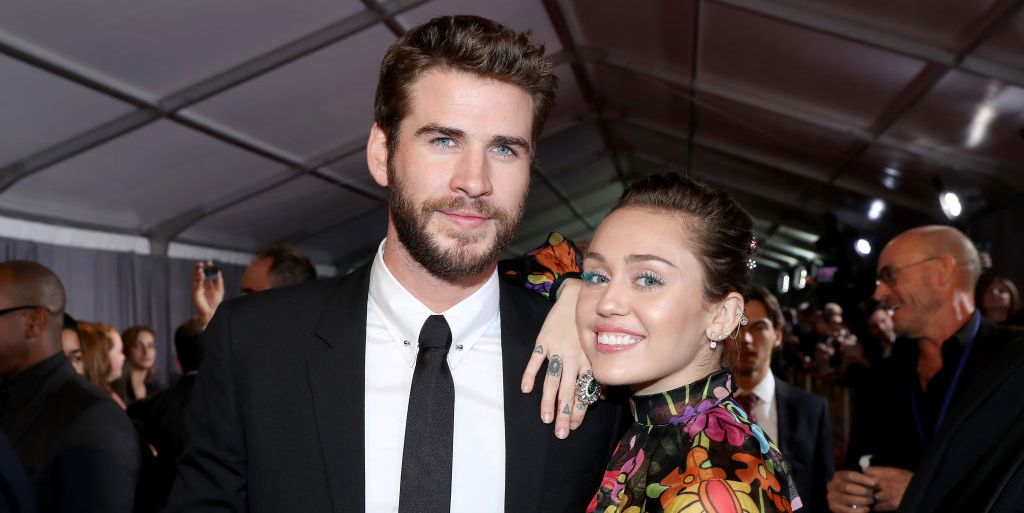 Miley Cyrus and Liam Hemsworth Walked the Red Carpet Together for the First Time in Years