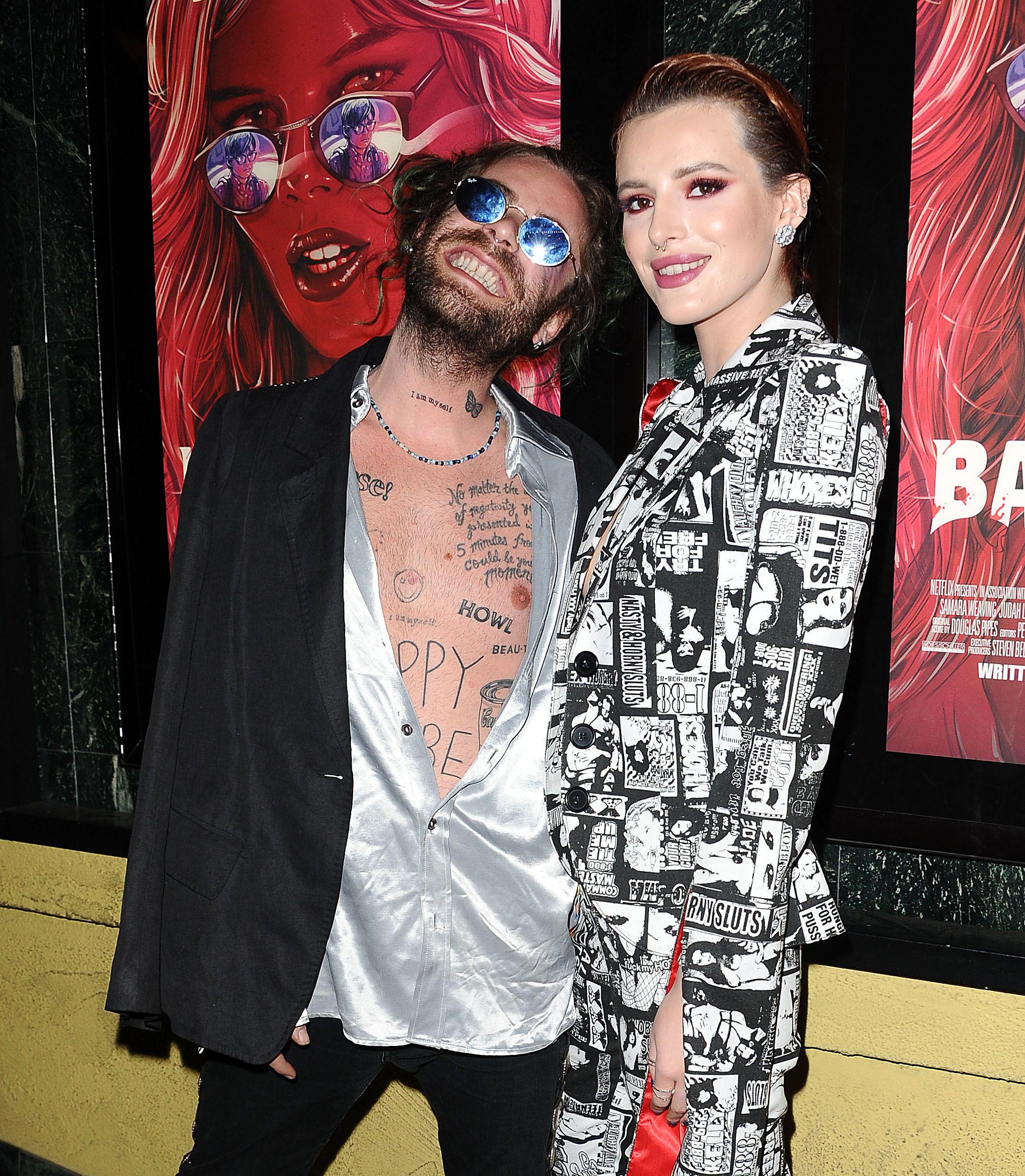Who is rapper black bear dating bella thorne