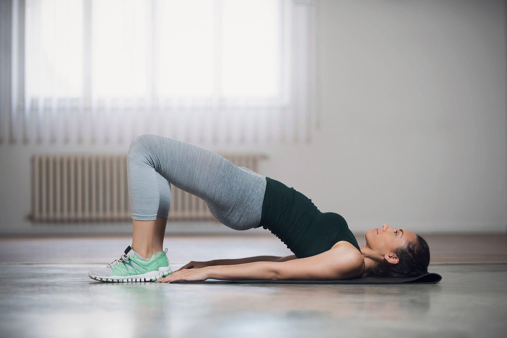 El piernas rutina gym para en tonificar