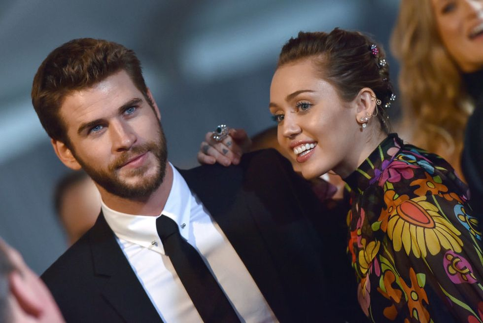 Miley Cyrus And Liam Hemsworth Wedding