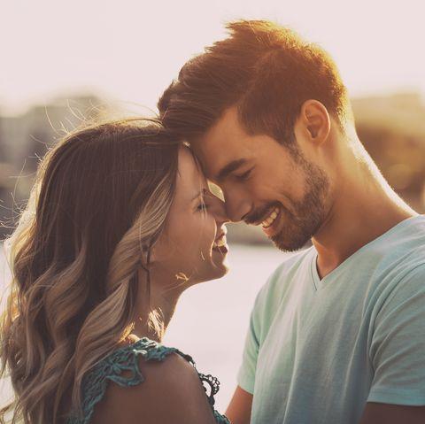 Romance, Photograph, Love, Kiss, Forehead, Interaction, Cheek, Honeymoon, Photography, Happy,