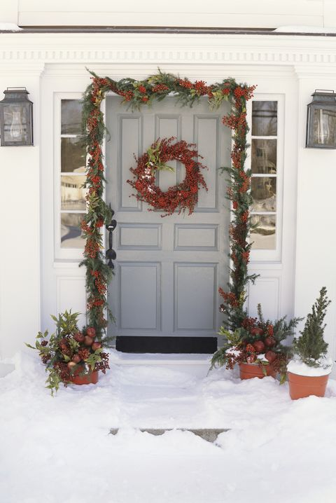 outdoor christmas decor - Christmas House Decoration Ideas Outdoor