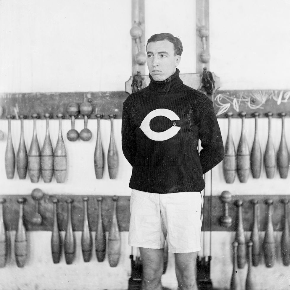 University of Chicago athlete, 1905